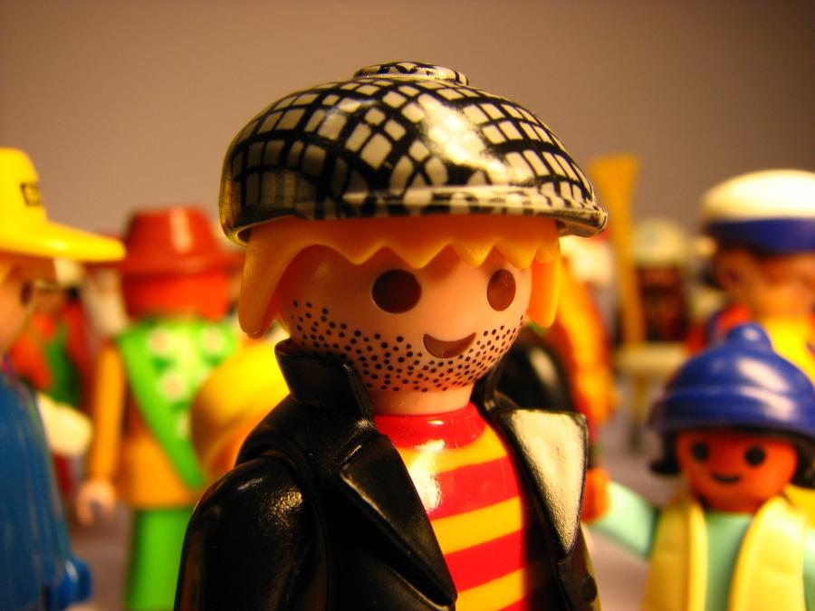 Összecsukható Playmobil babaház